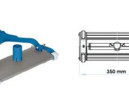 Limpiafondos Aluminio extru