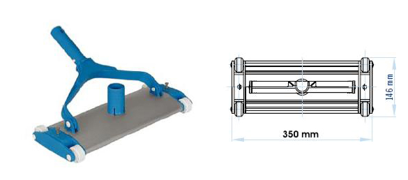 Limpiafondos-Aluminio-extru