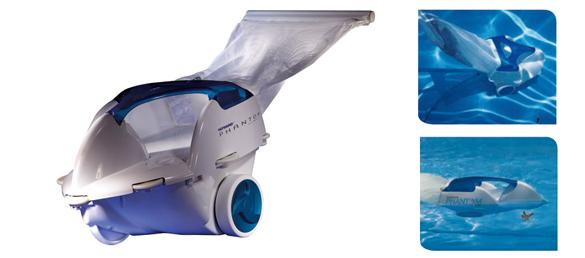 Nuevo robot limpiafondos phantomlimpiafondos para piscinas for Limpiador fondo piscina