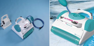 limpiafondos electrico dolphin aqualux starlux