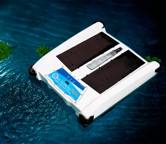 robot limpiador solar breeze nx2