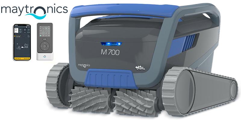 robot limpiafondos dolphin m700 2